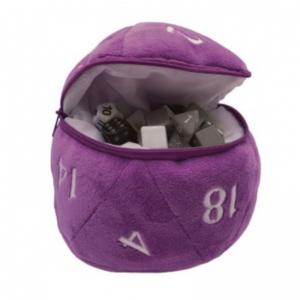 Bourse à Dés - D20 - Violet