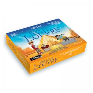 ESCAPE BOX ENQUETE AU LOUVRE