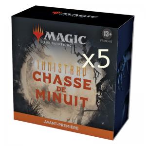 Pack d'Avant Première - Innistrad Chasse de Minuit x5